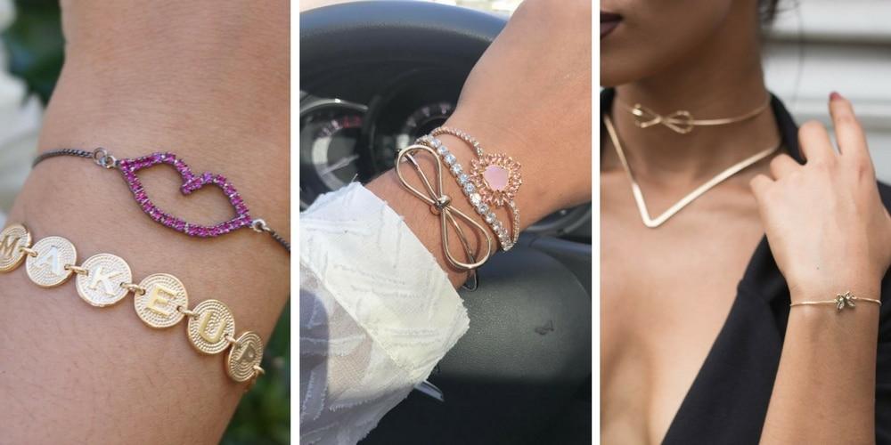 imagens de pulseiras cor de rosa