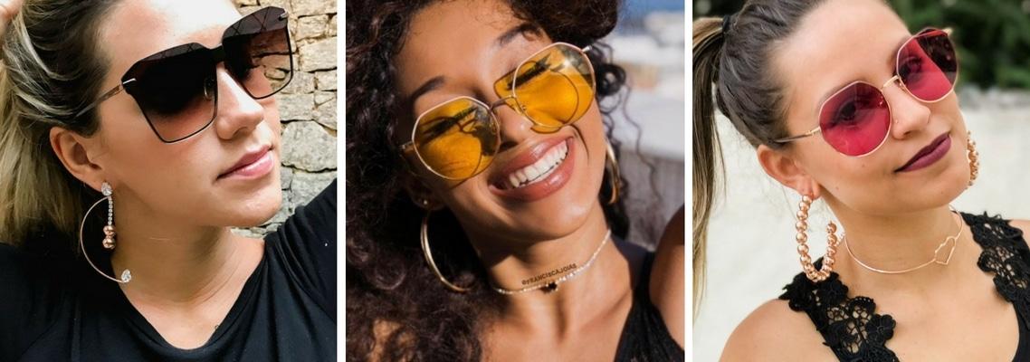 de3b5e66d Página inicial » Acessórios » Óculos de sol com lentes coloridas: o que  você precisa saber sobre essa tendência