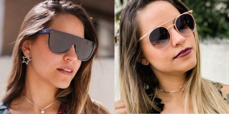 óculos escuros da moda