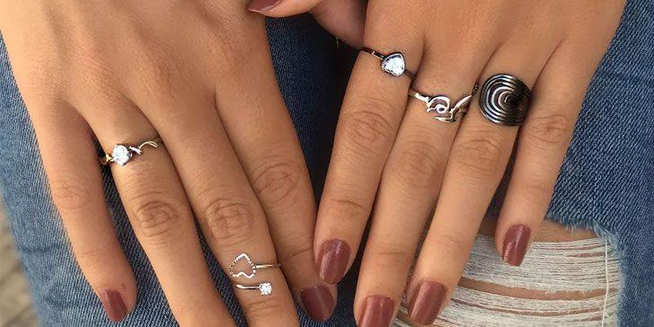 anéis reguláveis francisca joias