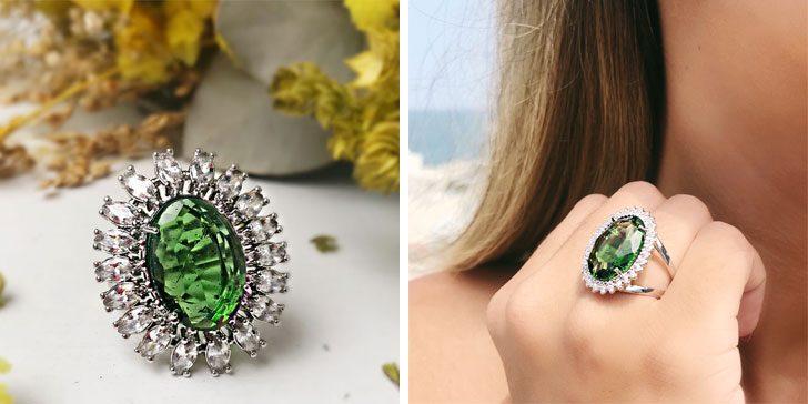pedras verdes esmeralda