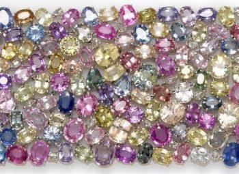 Diversas pedras preciosas