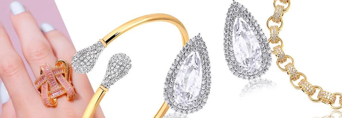 imagens das pecas da coleção glamour francisca joias