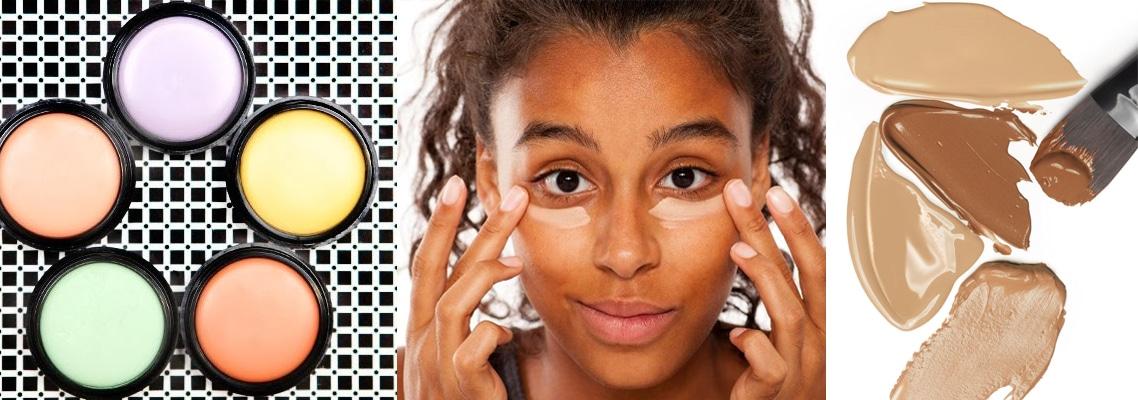 tipos de maquiagem para esconder olheiras