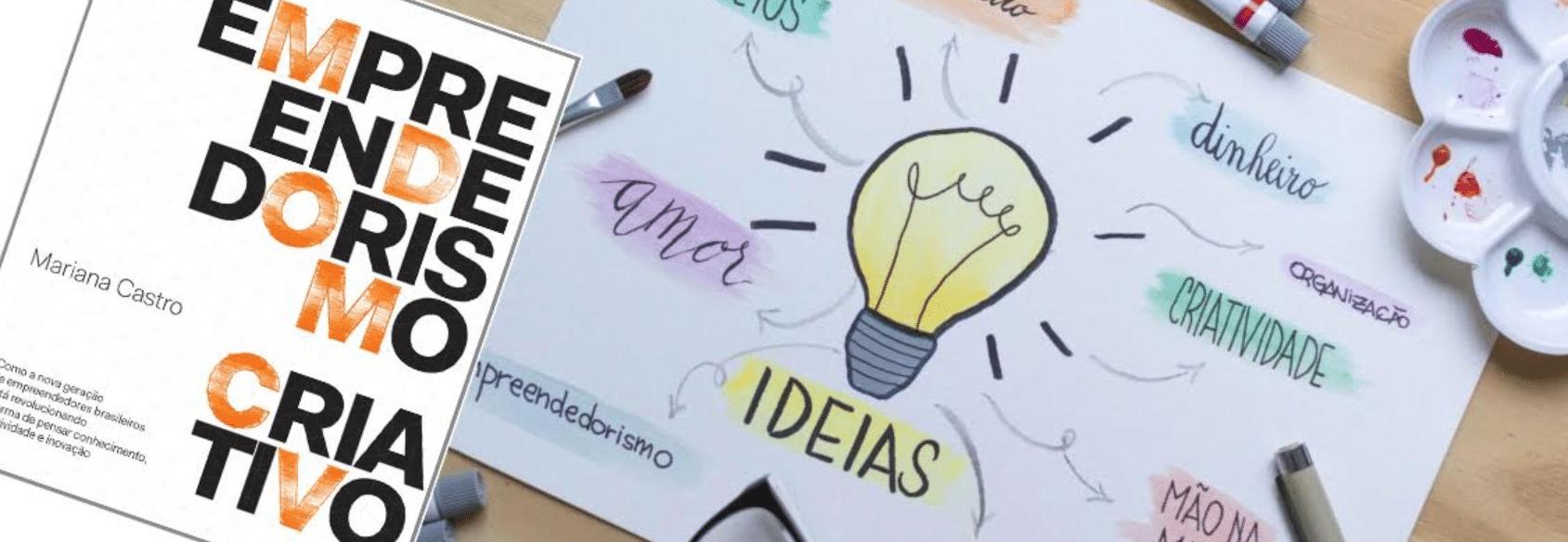 capa do texto empreendedorismo criativo escrito por mulheres empreendedoras