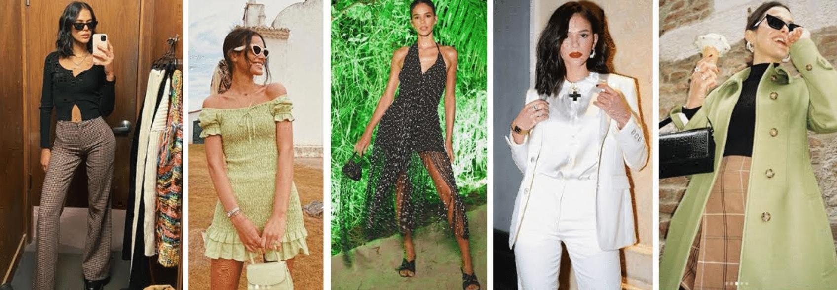fotos da atriz bruna marquezine usando diversos looksk