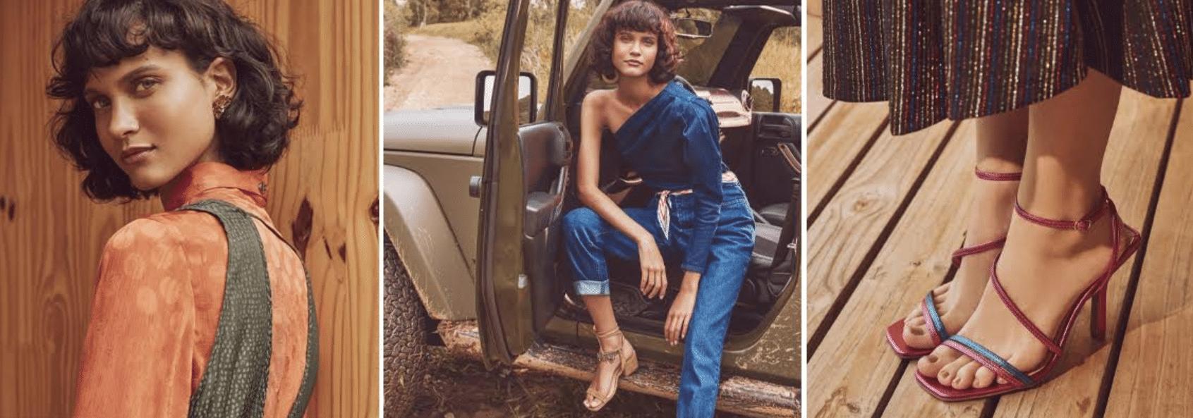 fotos de modelos com look da Dafiti