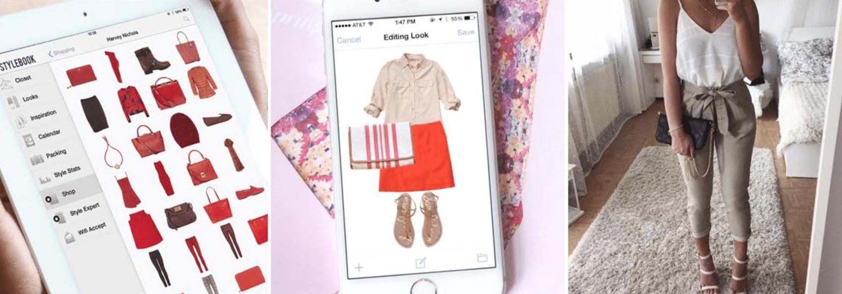 imagens do aplicativo stylebook