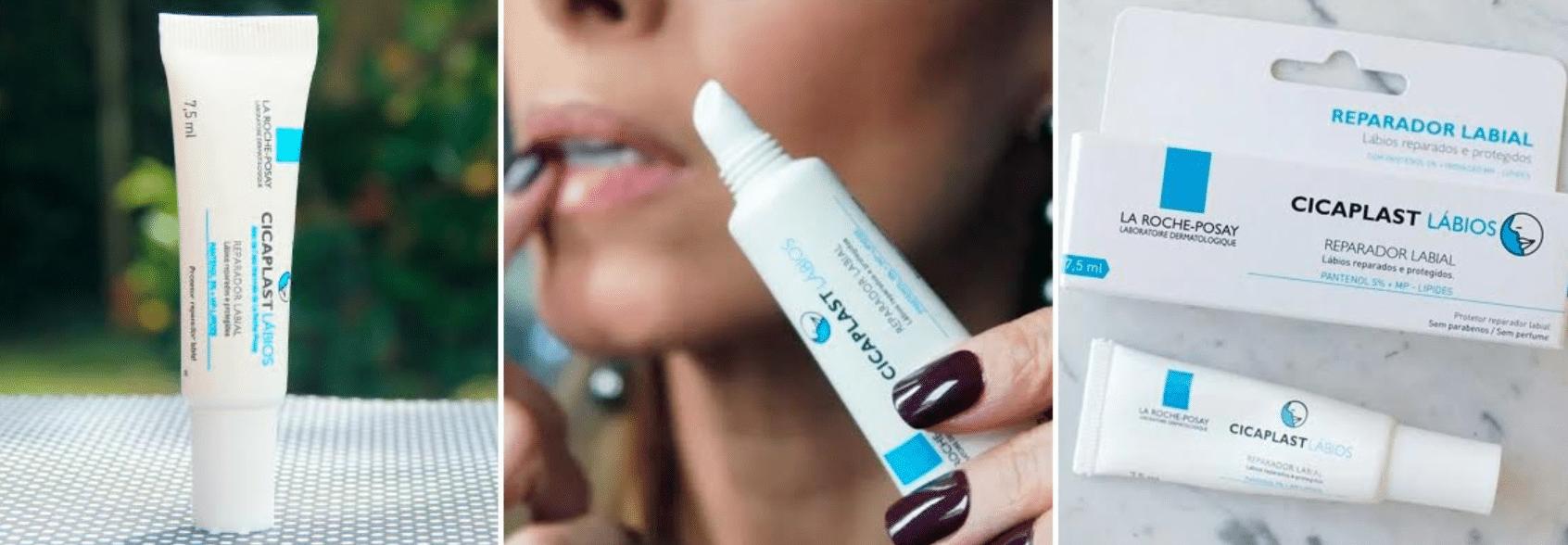 imagem de hidratande para os lábios cicaplast