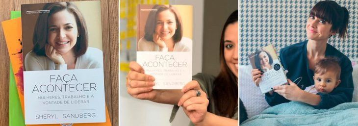 imagem da capa e da autora do livro Faça Acontecer