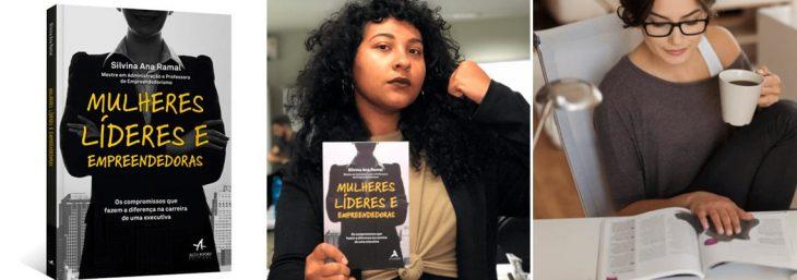 imagens da capa e das autores do livro mulheres líderes e empreendedoras